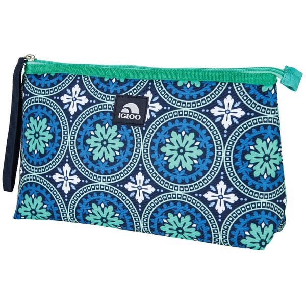 Igloo Lunch Clutch Road to Marrakech Green/Blue