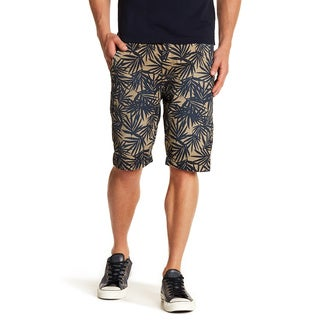 Printed Chino Pocket Short