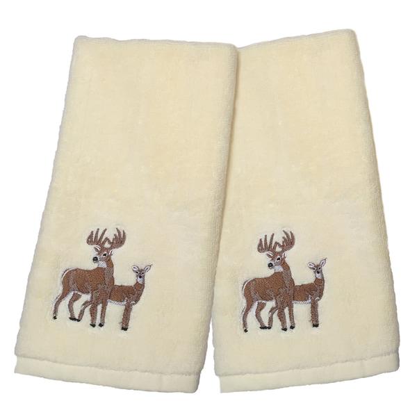 Majestic Deer Hand Towel Set