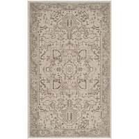 Safavieh Essence Wool Traditional Geometric Natural/ Taupe Area Rug - 3' x 5'