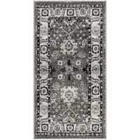 Safavieh Vintage Hamadan Vintage Oriental Grey/ Black Runner Rug - 2'7 x 5'