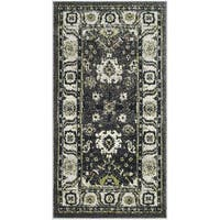 Safavieh Vintage Hamadan Vintage Oriental Dark Grey/ Ivory Runner Rug - 2'7 x 5'