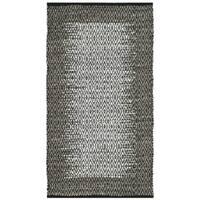 Safavieh Vintage Leather HandWoven Modern Geometric Light Grey/ Grey Area Rug - 3' x 5'