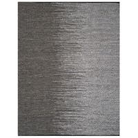 Safavieh Vintage Leather HandWoven Modern Geometric Light Grey/ Grey Area Rug - 4' x 6'