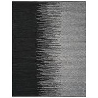 Safavieh Vintage Leather HandWoven Modern Geometric Light Grey/ Black Area Rug - 4' x 6'