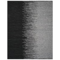 Safavieh Vintage Leather HandWoven Modern Geometric Light Grey/ Black Area Rug - 5' x 8'