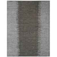 Safavieh Vintage Leather HandWoven Modern Geometric Light Grey/ Grey Area Rug - 5' x 8'