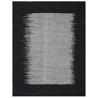 Safavieh Vintage Leather HandWoven Modern Geometric Light Grey/ Black Area Rug - 8' x 10'