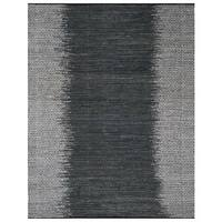 Safavieh Vintage Leather HandWoven Modern Geometric Light Grey/ Charcoal Area Rug (8' x 10')