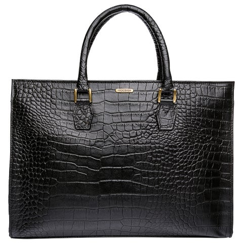 Hidesign Kester Elegant Leather Work Handbag
