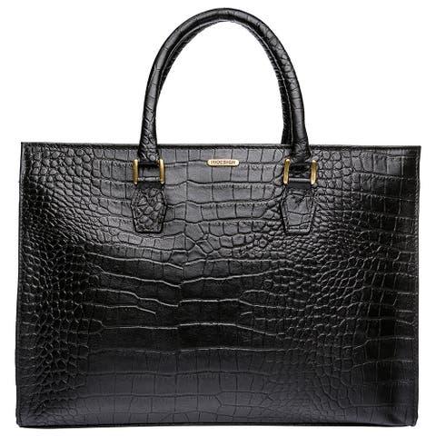 Hidesign Kester Elegant Leather Work Handbag