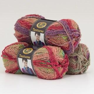 Lion Brand Yarn Textures Meadow Flowers 931-201 3 Pack Fashion Yarn