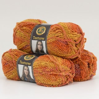 Lion Brand Yarn Textures Sun Rays 931-200 3 Pack Fashion Yarn