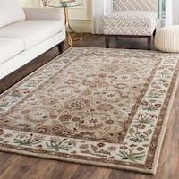 Safavieh Bella HandWoven Wool Contemporary Oriental Tan/ Ivory Runner Rug - 2'3 x 7'