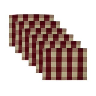 Sherry Kline Picnic Grove Red Reversible Placemat (6-pk)