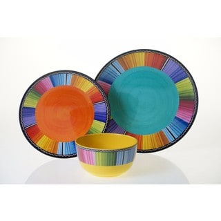 Certified International Serape Melamine 12-piece Dinnerware Set