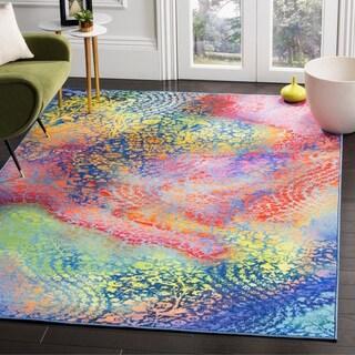 Safavieh Paint Brush Elsy Modern Abstract Rug