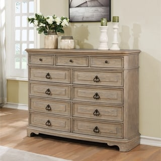 Piraeus 296 11 Drawers White Wash Dresser
