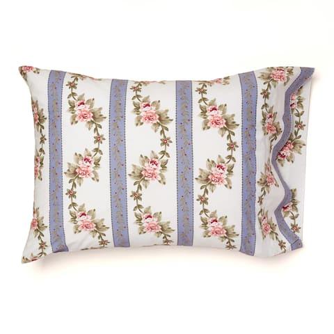 Annie Cornflower Blue Pillowcase Set