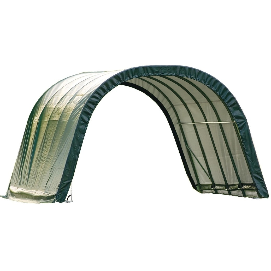 ShelterLogic Round Style Run-In Shelter, (Run-In Shelter ...