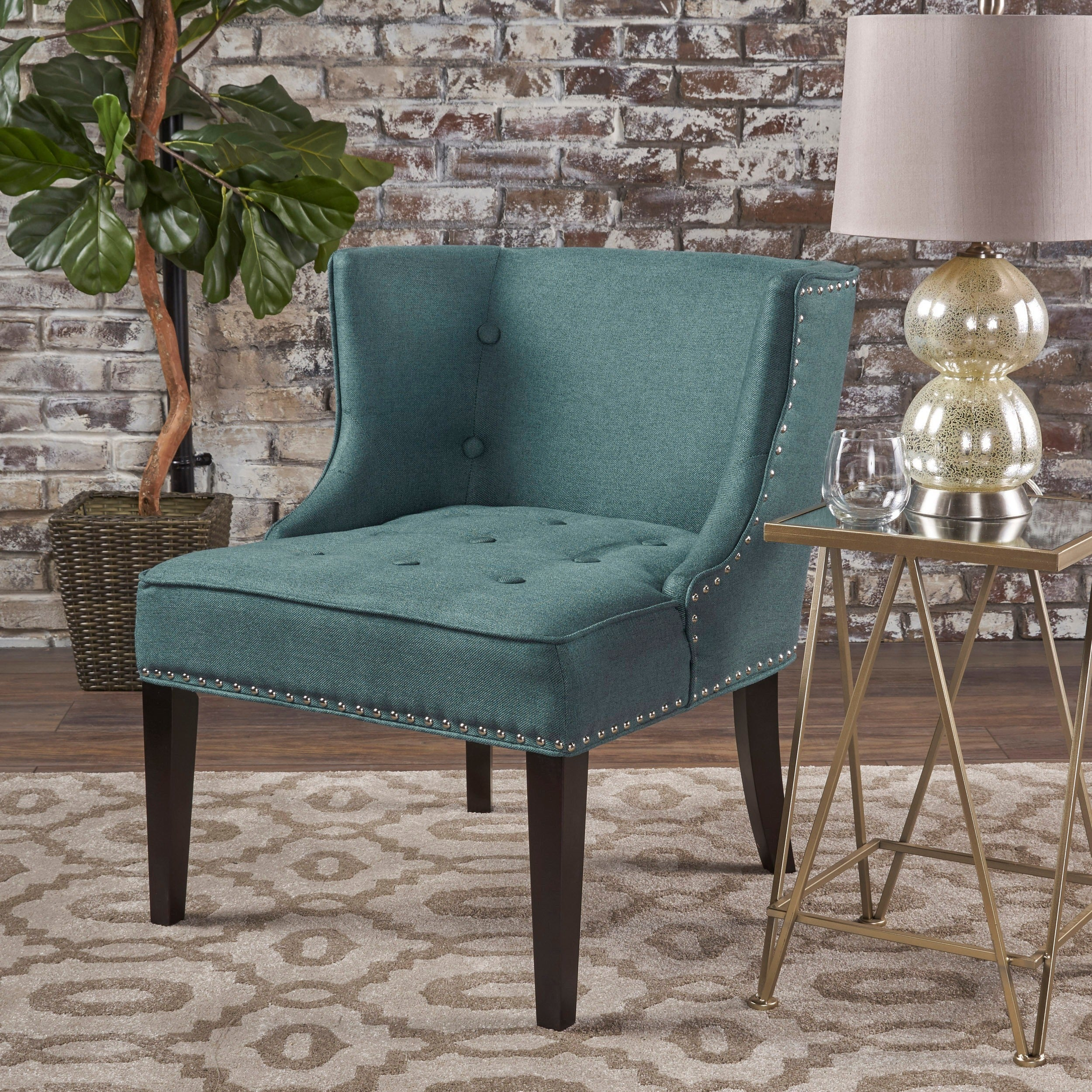 Christopher Knight Home Adelina Fabric Occasional Chair & Buy Wingback Chairs Modern u0026 Contemporary Living Room Chairs Online ...