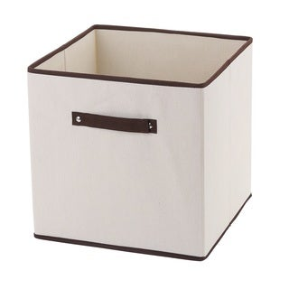 Fabric Closet Dresser Drawer Storage Foldable Organizer Cube Basket Bin Large