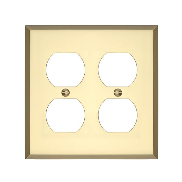 Maykke Graham Double Duplex Outlet Cover