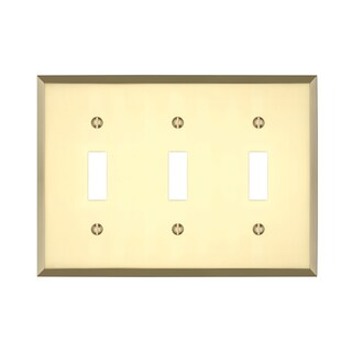 Maykke Graham Triple Light Switch Cover