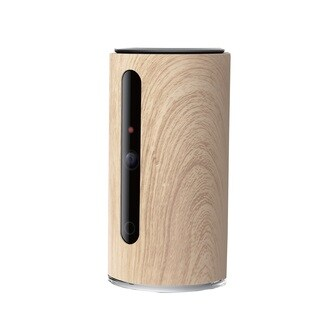 PetKit Mate Smart Video Monitor, Wood