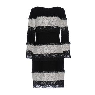 Love Moschino Size 4 Striped Lace Dress