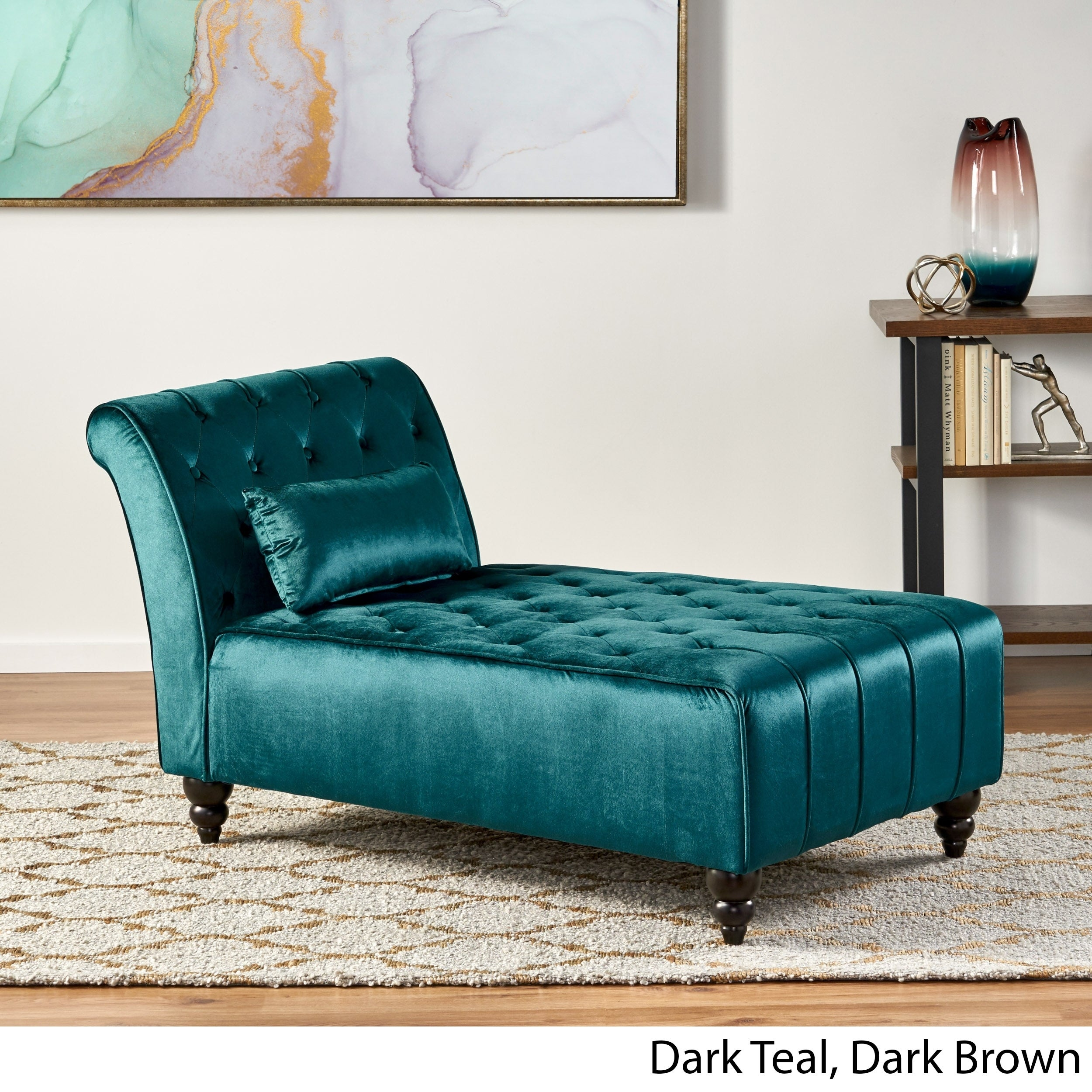 Shop Black Friday Deals On Rubie Velvet Chaise By Christopher Knight Home On Sale Overstock 16696614