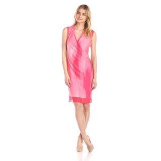 T Tahari Chandra Pink Dress