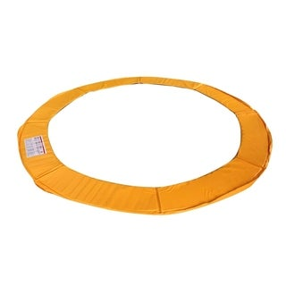 ExacMe Trampoline Replacement Safety Pad Frame Round Orange Cover