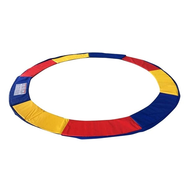 ExacMe Trampoline Replacement Safety Pad Frame Multicolor Round Cover