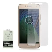 Insten Clear Tempered Glass LCD Screen Protector Film Cover For Motorola Moto G5 Plus