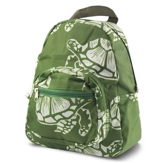 Zodaca Turtle Bright Stylish Kids Small Backpack Outdoor Shoulder School Zipper Bag with Adjustable Strap