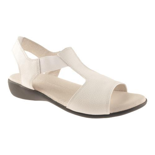 822f0f221392 Shop Women s David Tate Florence White Pebble Grain Leather - Free Shipping  Today - Overstock.com - 14156446