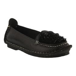 Women's L'Artiste by Spring Step Dezi Slip-On Black Leather