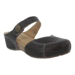 Women's L'Artiste by Spring Step Spoorti Clog Black Leather
