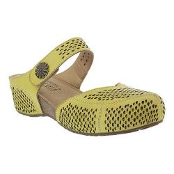 Women's L'Artiste by Spring Step Spoorti Clog Yellow Leather