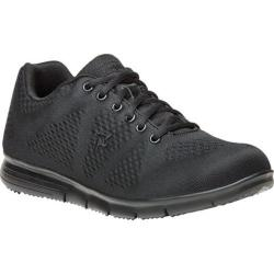 Men's Propet TravelFit Sneaker All Black Mesh 3-D Knit/Mesh