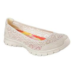 Women's Skechers EZ Flex 3.0 Majesty Ballet Flat Natural