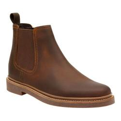 Men's Clarks Bushacre Up Chelsea Boot Beeswax Leather