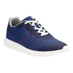Men's Clarks Torset Vibe Sneaker Blue Textile/Mesh