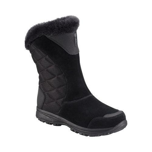 Women's Columbia Ice Maiden II Slip Boot Black/Shale (US ...