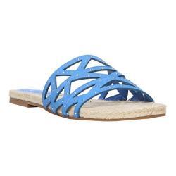 Women's Fergie Footwear Minx Slide Sky Suede