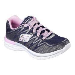 Girls' Skechers Dream N Dash Sneaker Navy/Pink