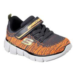 Boys' Skechers Equalizer 2.0 Quick Moves Trainer Charcoal/Orange