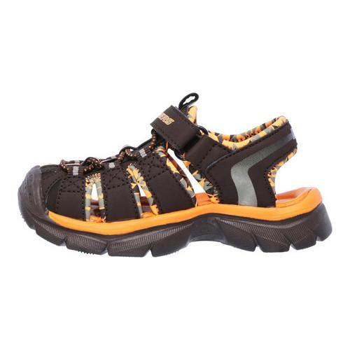 548bb9fe1fc5 Shop Boys  Skechers Relix Sandal Chocolate - Free Shipping On Orders ...