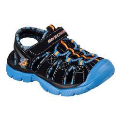 Boys' Skechers Relix Sandal Black/Blue